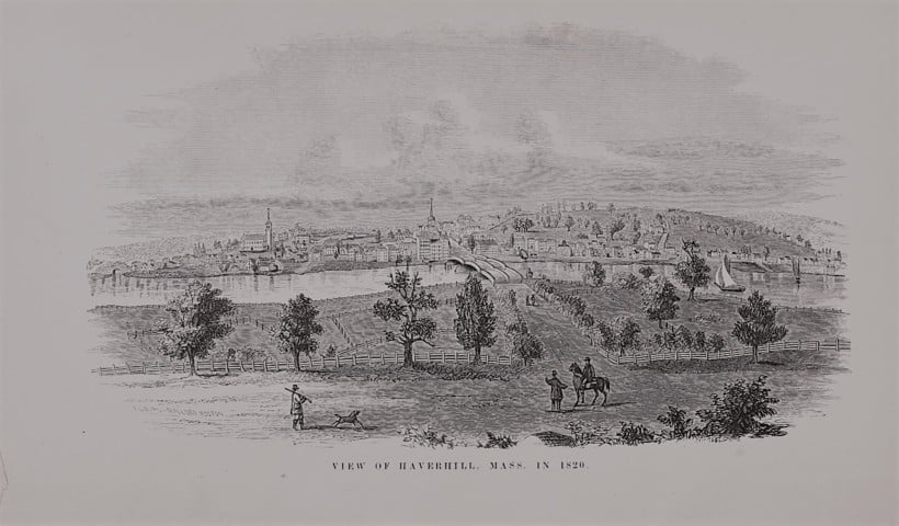 Haverhill Massachusetts in 1820