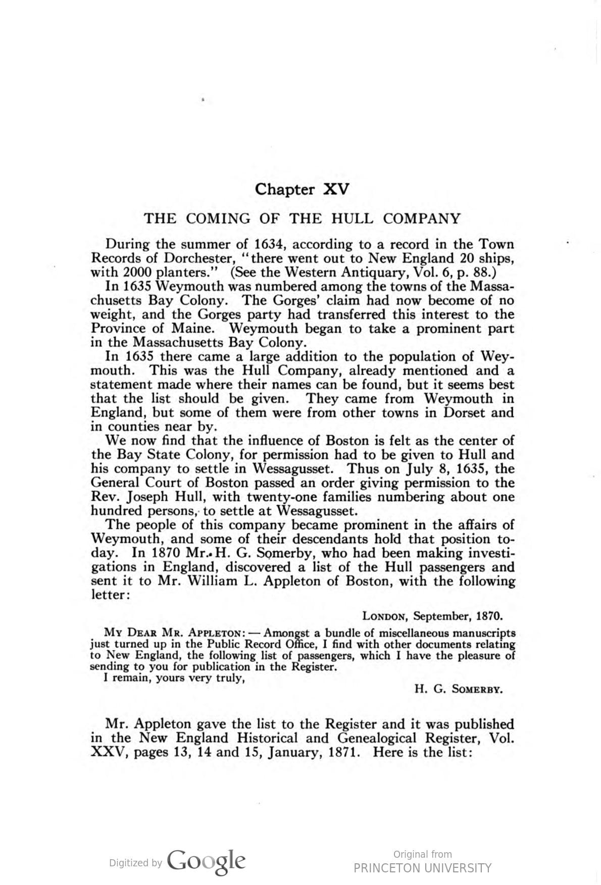 History of Weymouth, Massachusetts, vol. 1, p. 72